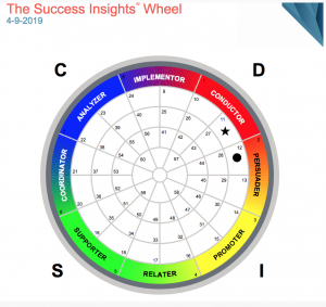 Success Insights Wheel